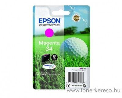 Epson WF-3720DWF eredeti magenta tintapatron T34634010 Epson WorkForce Pro WF-3720DWF tintasugaras nyomtatóhoz