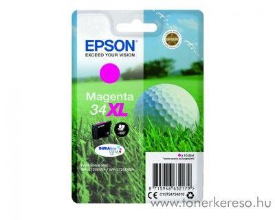 Epson WF-3720DWF eredeti magenta tintapatron T34734010