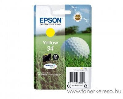 Epson WF-3720DWF eredeti yellow tintapatron T34644010
