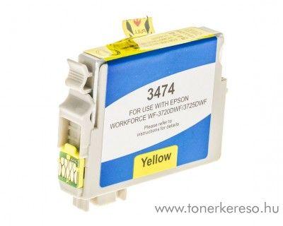 Epson WF-3720DWF utángyártott yellow tintapatron GGET3474