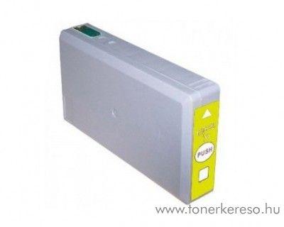 Epson WF-5110DW utángyártott yellow tintapatron OBET7894Y