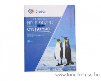 Epson WF-6090 (T9072) utángyártott cyan tintapatron GGET9072 WorkForce Pro WF-6090D2TWC tintasugaras nyomtatóhoz