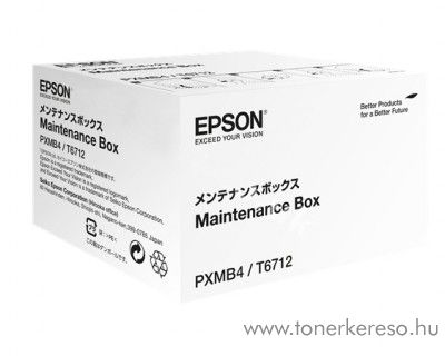 Epson WF-8010DW (T6712) eredeti matintenance box C13T671200