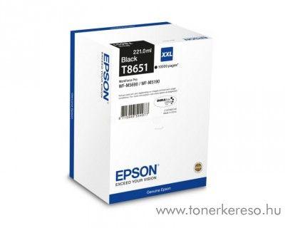 Epson WF-M5190DW (T8651) eredeti black tintapatron C13T865140 Epson WorkForce Pro WF-M5690DWF tintasugaras nyomtatóhoz