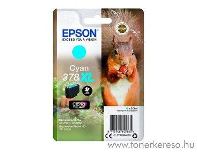 Epson XP-15000/XP-8500 eredeti cyan tintapatron T37924010 Epson Expression Photo HD XP-15000 tintasugaras nyomtatóhoz