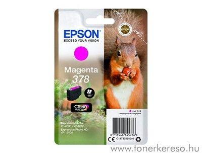 Epson XP-15000/XP-8500 eredeti magenta tintapatron T37834010 Epson Expression Photo HD XP-15000 tintasugaras nyomtatóhoz