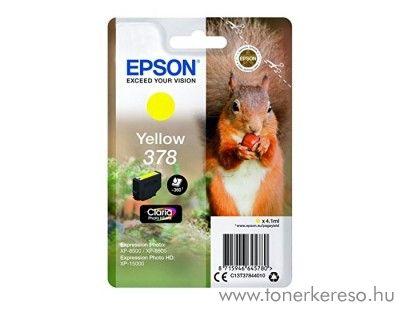 Epson XP-15000/XP-8500 eredeti yellow tintapatron T37844010 Epson Expression Photo XP-8500 tintasugaras nyomtatóhoz