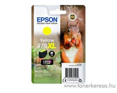 Epson XP-15000/XP-8500 eredeti yellow tintapatron T37944010 Epson Expression Photo HD XP-15000 tintasugaras nyomtatóhoz