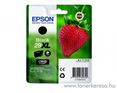 Epson XP-235/335 (29XL) eredeti black tintapatron T29914010 Epson Expression Home XP-245 tintasugaras nyomtatóhoz