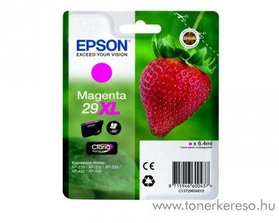 Epson XP-235/335 (29XL) eredeti magenta tintapatron T29934010 Epson Expression Home XP-235 tintasugaras nyomtatóhoz