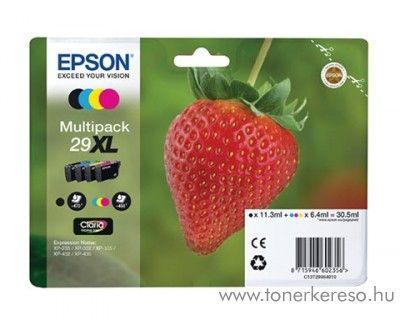 Epson XP-235/335 (29XL) eredeti multipack tintapatron T29964010 Epson Expression Home XP-332 tintasugaras nyomtatóhoz