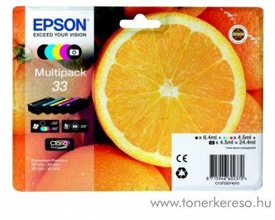 Epson XP-530/830 eredeti multipack C13T33374010 Epson Expression Premium XP-635 tintasugaras nyomtatóhoz