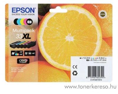 Epson XP-530/830 eredeti multipack C13T33574010 Epson Expression Premium XP-635 tintasugaras nyomtatóhoz
