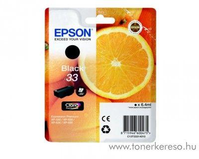 Epson XP-530 eredeti black tintapatron C13T33314010