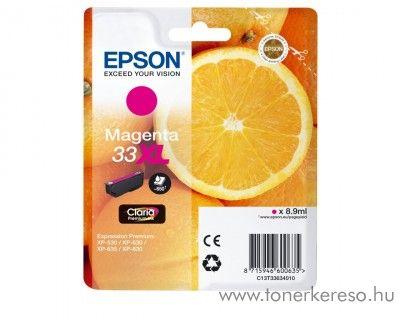 Epson XP-530 eredeti magenta tintapatron C13T33634010 Epson Expression Premium XP-630 tintasugaras nyomtatóhoz