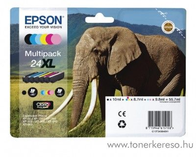 Epson XP-55/750 eredeti multipack C13T24384011 Epson Expression Photo XP-860 tintasugaras nyomtatóhoz