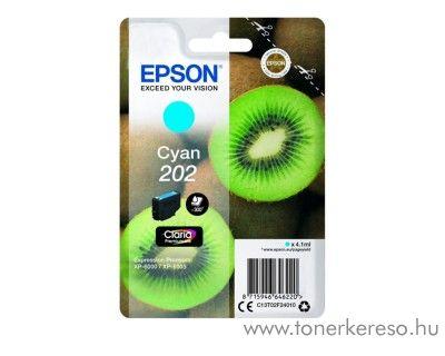 Epson XP-6000/XP-6005 eredeti cyan tintapatron T02F24010 Epson Expression Premium XP-6000 tintasugaras nyomtatóhoz
