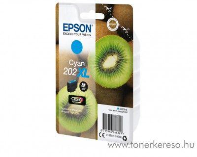 Epson XP-6000/XP-6005 eredeti cyan tintapatron T02H24010 Epson Expression Premium XP-6000 tintasugaras nyomtatóhoz