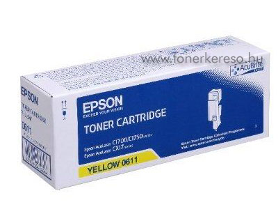 Epson toner S050611 yellow