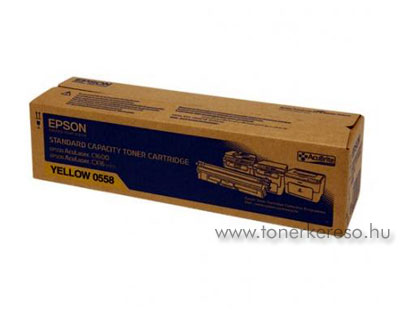 Epson Toner S050558 yellow