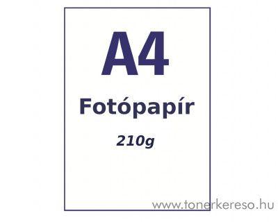 Fotópapír A4 20 lap 210g Premium Glossy