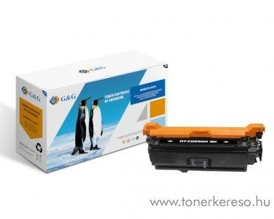 G&G HP Color LaserJet CM3530 utángyártott fekete toner GGHCE250X HP Color LaserJet CM3530 lézernyomtatóhoz
