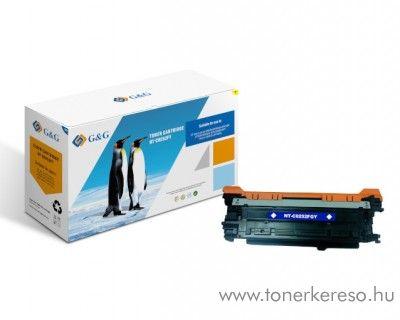 G&G HP Color LaserJet CM3530 utángyártott yellow toner GGHCE252A HP Color LaserJet CM3530 lézernyomtatóhoz