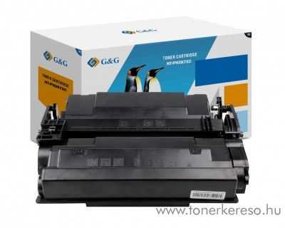 G&G HP LJ Enterprise M506 utángyártott fekete toner GGHCF287A
