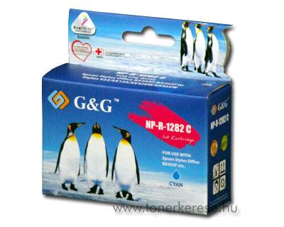 Epson T1282 cyan kompatibilis/utángyártott tintapatron G&G GGT12 Epson Stylus S22 tintasugaras nyomtatóhoz