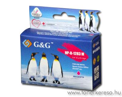 Epson T1283 magenta kompatibilis/utángyártott tintapatron G&G GG Epson Stylus SX125 tintasugaras nyomtatóhoz
