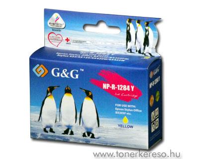 Epson T1284 yellow kompatibilis/utángyártott tintapatron G&G GGT Epson Stylus SX125 tintasugaras nyomtatóhoz