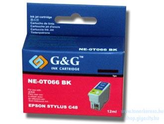 Epson C48 fekete tintapatron G&G GGT066