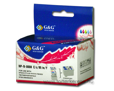 Epson Photo 780/870/890 színes tintapatron GGT008 Epson Stylus Photo 875 tintasugaras nyomtatóhoz
