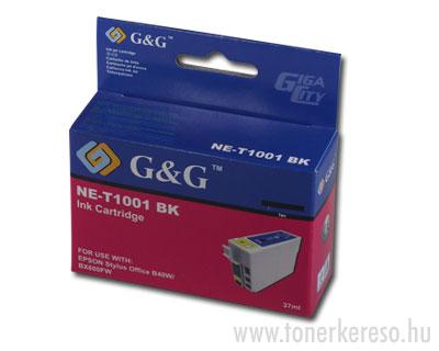 Epson T1001 fekete tintapatron G&G kompatibilis Epson Stylus Office BX610FW tintasugaras nyomtatóhoz