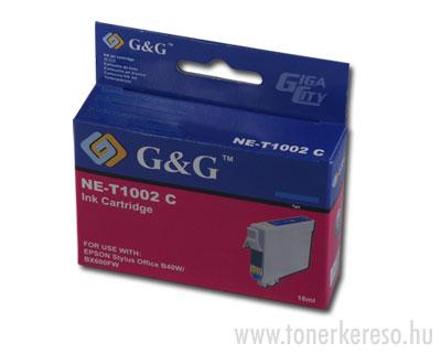 Epson T1002 cyan tintapatron G&G kompatibilis Epson Stylus Office BX610FW tintasugaras nyomtatóhoz
