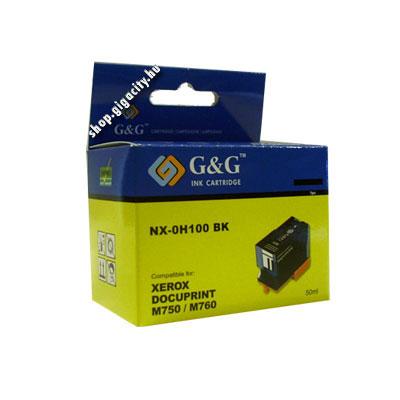 Xerox M750/760 fekete patron G&G H100 Xerox Docuprint M750 tintasugaras nyomtatóhoz