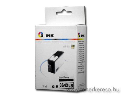 HP 364XL fekete nagykapacitású kompatibilis patron (CN684) G-Ink  HP Photosmart 5522 e-All-in-One  tintasugaras nyomtatóhoz