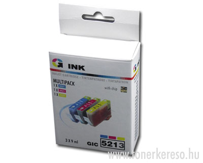 Canon CLI-521 multipack 3db-os kompatibilis G-ink CIC5213