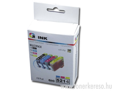 Canon CLI-521 multipack 4db-os kompatibilis G-ink CIC5214