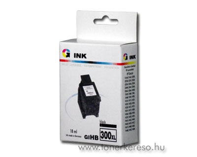 HP 300XL fekete kompatibilis nagykap. patron HP DeskJet D2545 tintasugaras nyomtatóhoz
