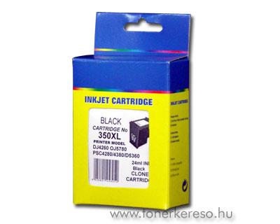 HP 350XL (No. 350XL) kompatibilis tintapatron HP DeskJet D4360 tintasugaras nyomtatóhoz