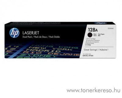 HP 128A eredeti fekete black dupla toner CE320AD