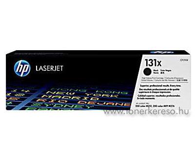 HP 131X Bk toner (CF210X) HP LaserJet Pro 200 lézernyomtatóhoz