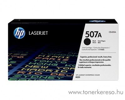HP 507A eredeti fekete toner CE400A