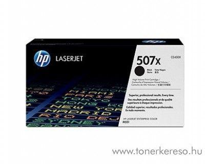 HP 507X eredeti fekete nagykapacitású toner CE400X HP LaserJet Enterprise 500 M575f lézernyomtatóhoz