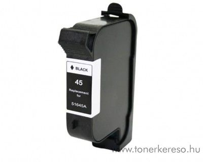 HP 51645 (No. 45)  utángyártott tintapatron GIH51645A HP Deskjet 950c tintasugaras nyomtatóhoz