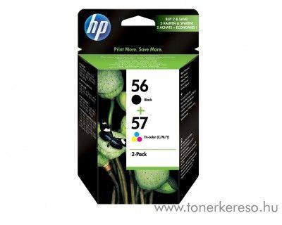 HP 56+57 eredeti fekete és színes tintapatron csomag SA342AE HP DeskJet D7260 tintasugaras nyomtatóhoz