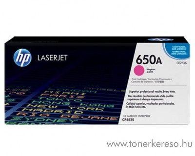 HP 650A Magenta toner (CE273A) HP Color LaserJet CP5520 lézernyomtatóhoz