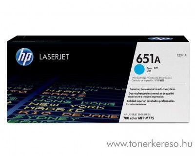 HP 651A eredeti cyan toner CE341A HP LaserJet Enterprise 700 Color MFP M775z