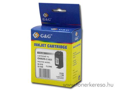HP 6625 (No. 17) tintapatron komp. G&G GGH6625